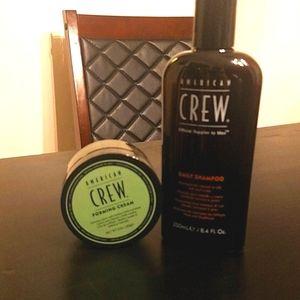 American Crew Daily Shampoo Forming Cream Pomade